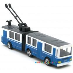 Минимодель Троллейбус с гармошкой Технопарк SB-15-34-T