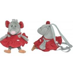 Игрушка - рюкзак Мышка - девочка Тигрес ІГ-0083