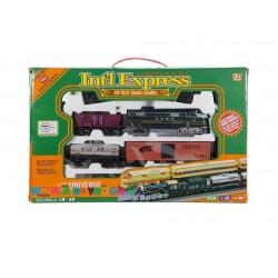 Дизельный поезд и 3 вагона Fenfa 1604-2B