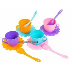 Набор игрушечной посуды Ромашка 12 элементов Тигрес 39081