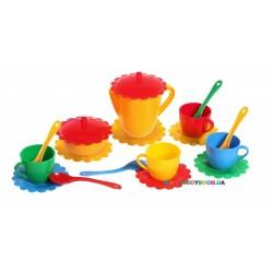 Набор игрушечной посуды Ромашка 19 элементов Тигрес 39091