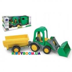 Трактор-багги с ковшом и прицепом Тигрес 39349