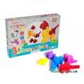 Игрушка развивающая 3D-пазлы «Животные» Тигрес 39355