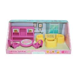Набор мебели для кукол (гостинная) 8 эл. Тигрес 39696