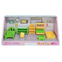 Набор мебели для кукол (спальня) 7 эл. Тигрес 39697