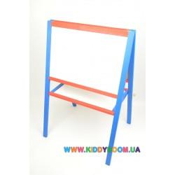 Детский мольберт для творчества и обучения Игруша 65х45 см МТУ-Ц