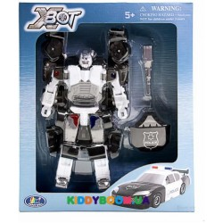 Робот-трансформер X-Bot Полиция (15,5 см) Happy Well 80030R