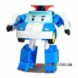Поли мини - трансформер 7,5 см Robocar Poli Silverlit 83046