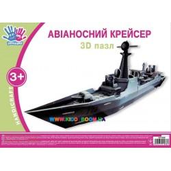 3D пазл Крейсер Ухтышка 951088