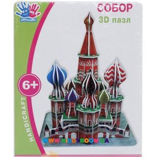 3D пазл Ухтышка Собор 951090