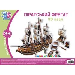 """3D пазл """"Пиратский фрегат"""" Ухтышка 951100"""