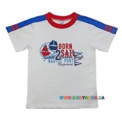 Футболка для мальчика р-р 98-116 Валери 1810-55-029
