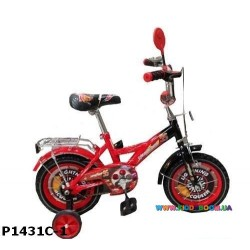 Велосипед детский 12 дюймов Тачки P1231C-1