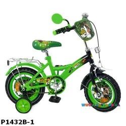 Детский велосипед  14 дюймов Ben 10 P1432B-1