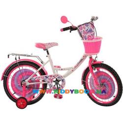 Велосипед детский двухколесный PROF1 16'' PC1663G Candy