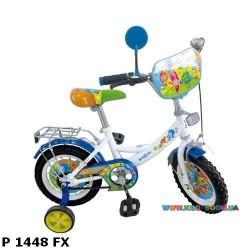Детский велосипед  14 дюймов Фиксики P 1448 FX