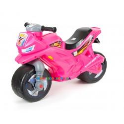 Мотоцикл велобег розовый Orion Toys 501