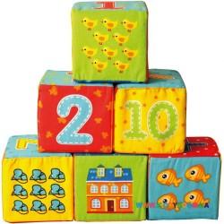 Набор кубиков Vladi Toys Цифры VT1401-04