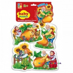 Беби пазлы Сказки Репка Vladi Toys VT1106-34