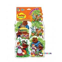 Беби пазлы Сказки Теремок Vladi Toys VT1106-35