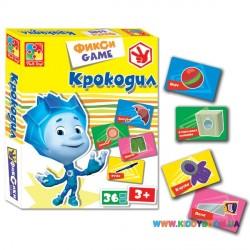 Игра Фикси game Крокодил Vladi Toys VT2107-04